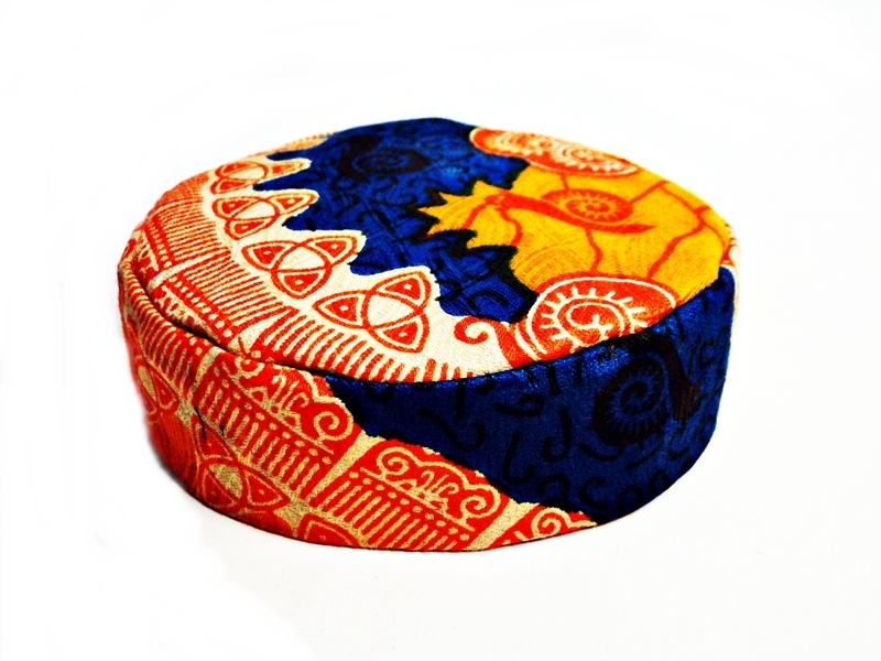 ALICE COLTRANE FUNKTOPIA KIDS KUFI HAT / WOEN HEADDRESS